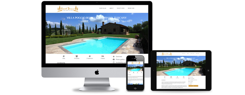 Holiday accommodation rentals website - like Airbnb