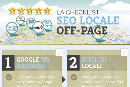 La Checklist del SEO Off-Page per i Business Locali