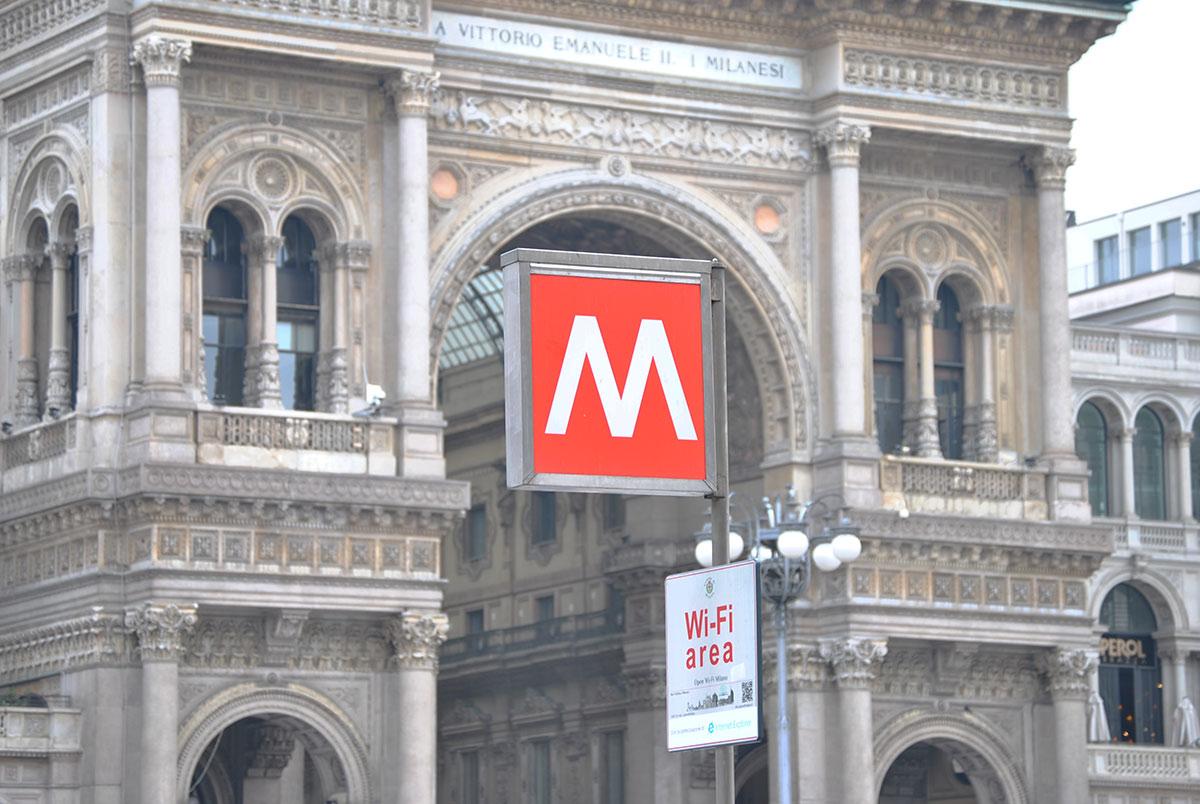 Scarica foto di Milano - gratuite e in alta definizione su Jeyjoo.it! - Galleria Vittorio Emanuele II e MM1, Milano