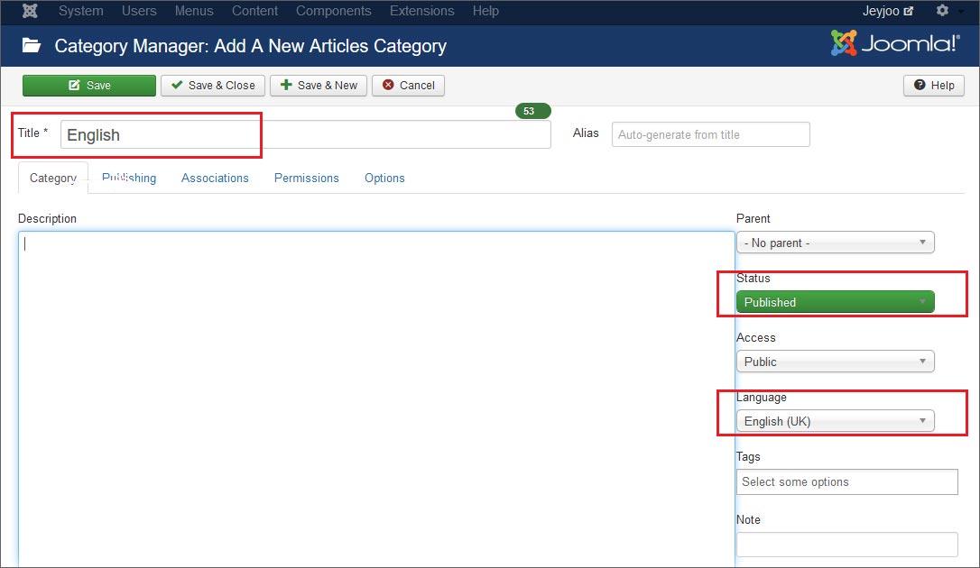 Come creare una categoria per i contenuti di un sito web