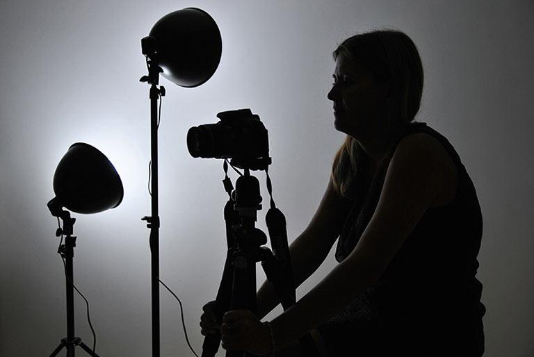 Fotografa con kit