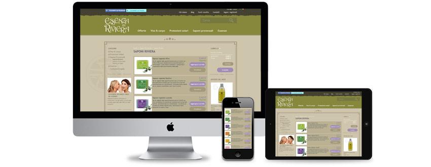 Design di un eCommerce multilingue per un'azienda cosmetica