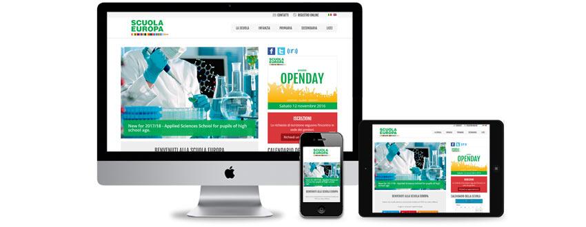 Web design per scuole e istituti scolastici