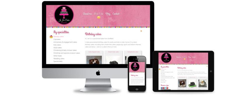 Design di un nuovo sito web per una azienda locale specializzata in catering