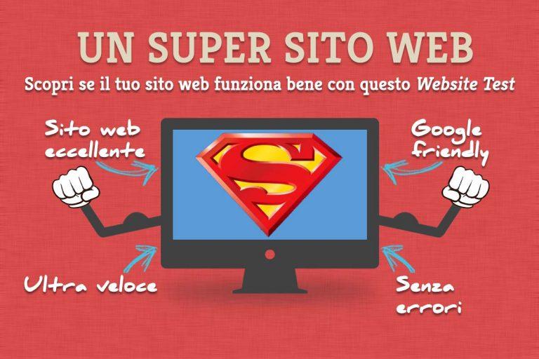 Funziona bene il tuo sito web? Scopri qui con questo test gratuito per siti web