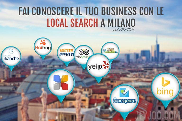 Come migliorare il posizionamento nella Local Search a Milano