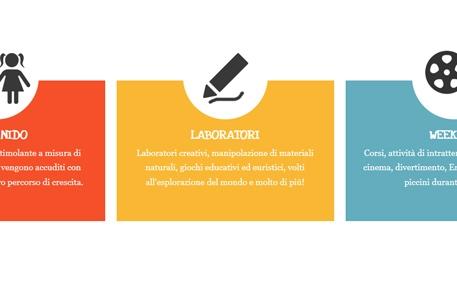 Realizzazione sito web per un asilo nido – Il Paciughino, Milano