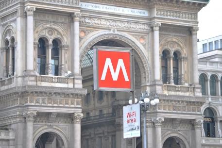 Galleria Vittorio Emanuele II e MM1, Milano