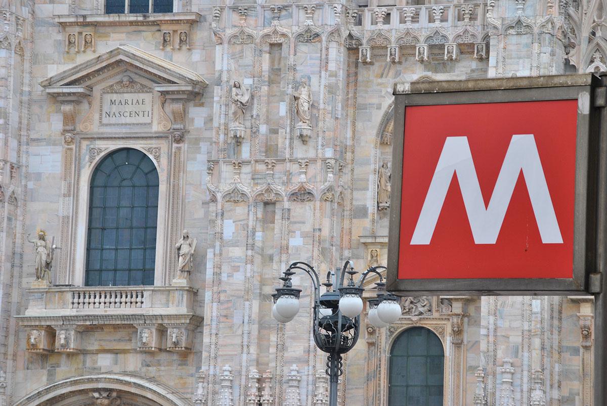 Scarica foto di Milano - gratuite e in alta definizione su Jeyjoo.it! - La Metropolitana e il Duomo