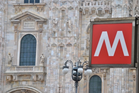 La Metropolitana e il Duomo