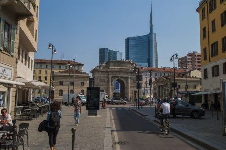 Porta Garibaldi, Milano