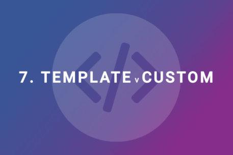 Cos'è meglio: un template o un sito web con design personalizzato?
